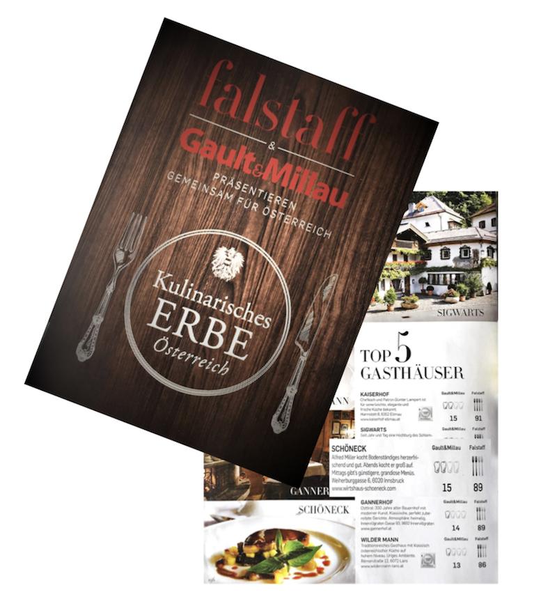Gault Millau Restaurant Innsbruck